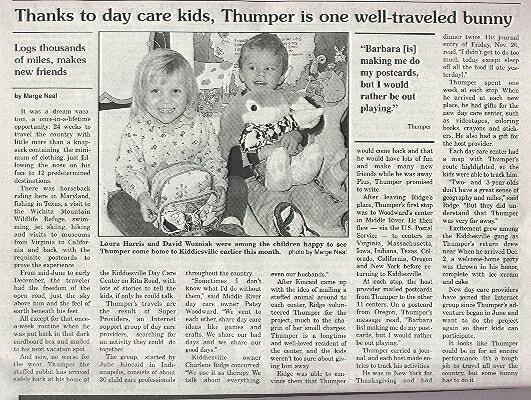 Thumper Article
